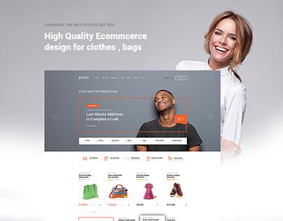 Fashion Ecommerce Web Design