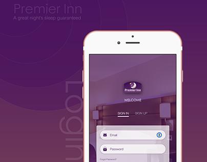 Premier Inn App Redesign