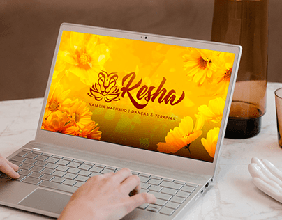 Kesha Terapias | Identidade e Site | 2020/2021