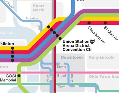 Columbus Transit Maps