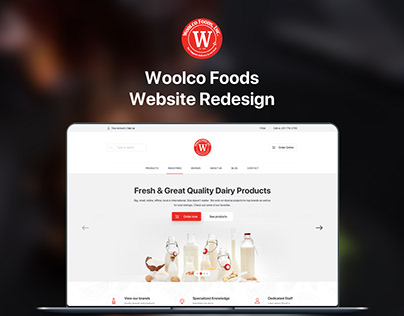 Woolco Foods Website Redesign