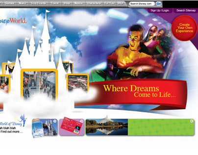 Walt Disney World Website