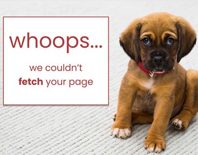 Doggie 404
