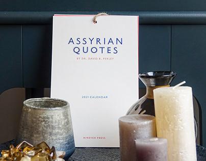 Assyrian Quotes 2021 Wall Calendar