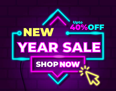 New Year Sale post for MYS Store