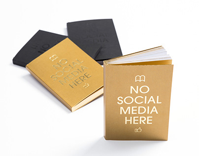 NO SOCIAL MEDIA HERE