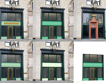3D Render: Fashion Boutique, Manhattan