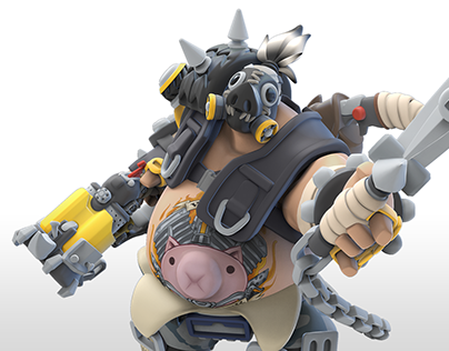 Roadhog Overwatch Infinity... and beyond!