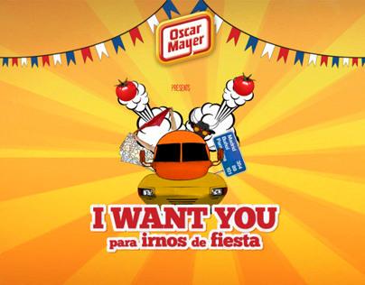 I want you para irnos de fiesta