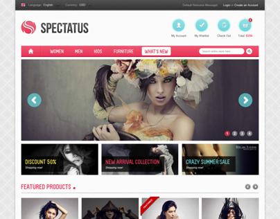Spectatus Magento Website