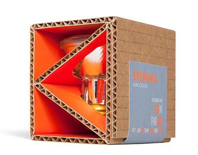 Sylvania Light Bulb Packaging