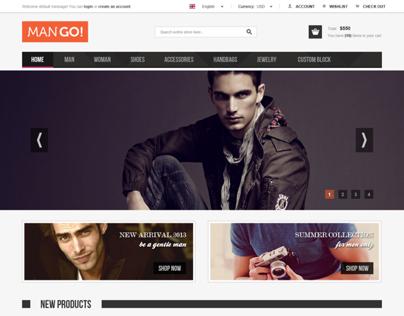 ManGo Magento Website