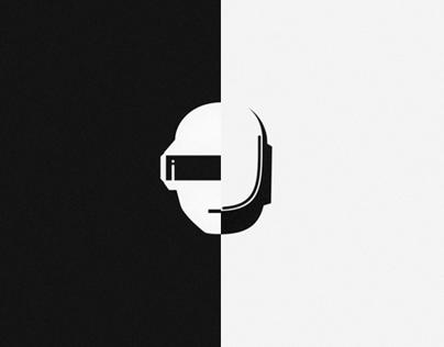 Tribute to Daft Punk.