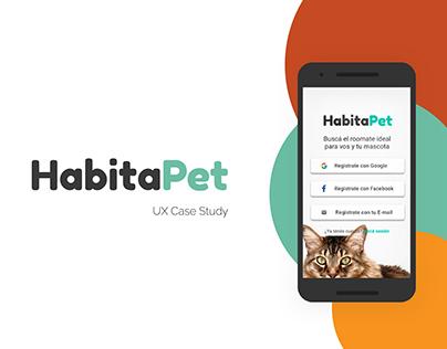 Habita Pet · UX / UI Case Study