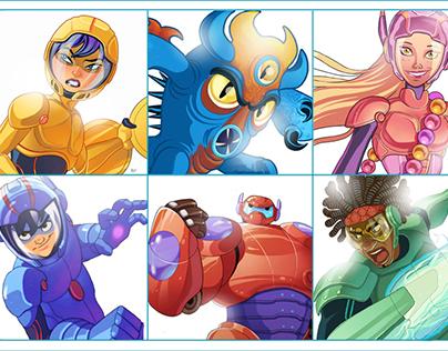Big Hero 6 . Characters
