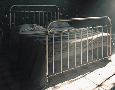 CGI Old bedroom