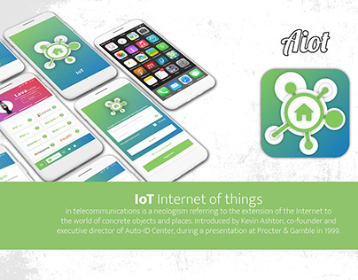 concept for a IOT content platform on Smartphone