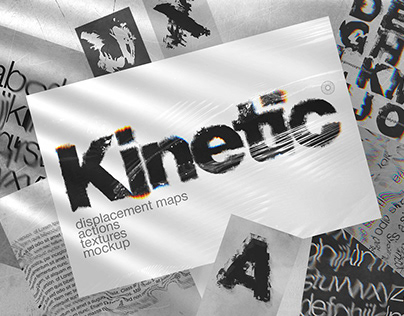 Kinetic Displacement Maps Glitch Actions By:Inartflow