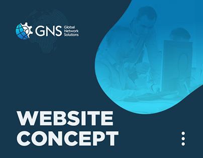 GNS-IT | website concept