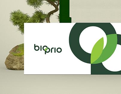BioPrio Logo design