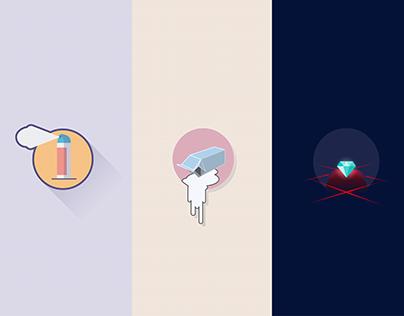Free-theme icons