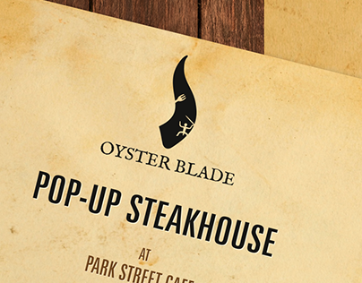 Oyster Blade Logo & Stationery