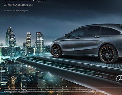 Mercedes-Benz CLA with Anke Luckmann | CGI & Retouching