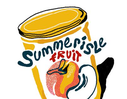 Canned peaches of Summerisle island