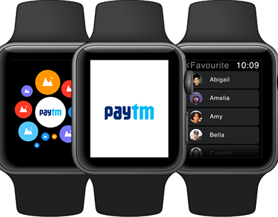 Designing the Paytm app for Apple watch