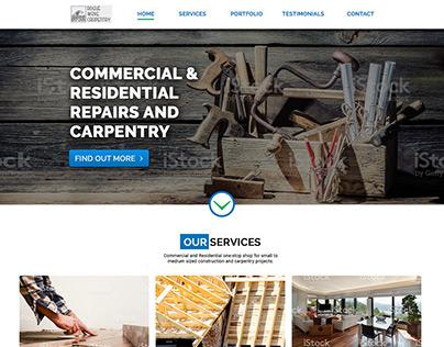 RWC Carpentry Contractor Re-Design