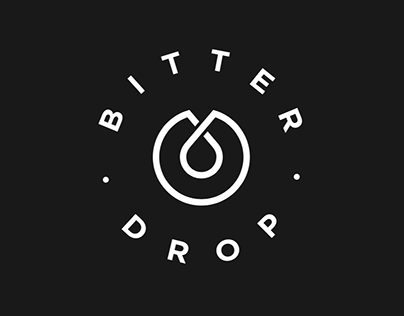 Bitter drop 10+ logo variations