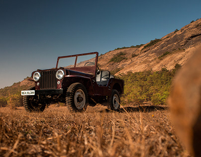 Willys Jeep and Jeep Wrangler shoot for Overdrive