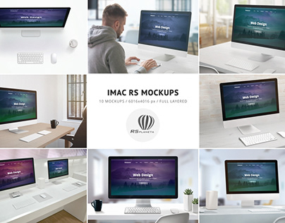 iMac RS Mockups