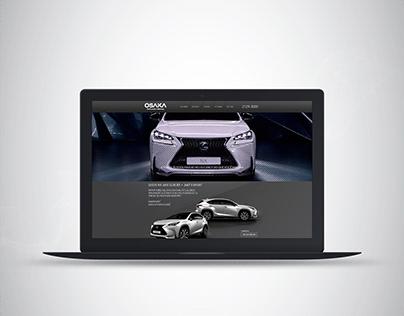 Landing page Lexus