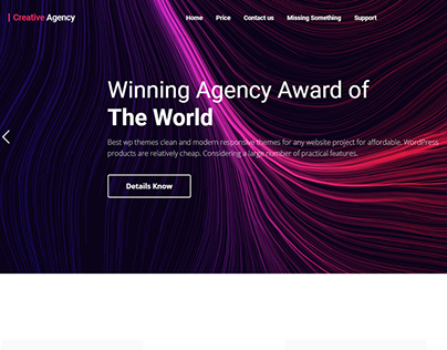 Agency Wordpress Webside
