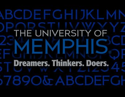 University of Memphis Brand Development