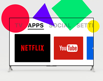 Smart TV App #DailyUI