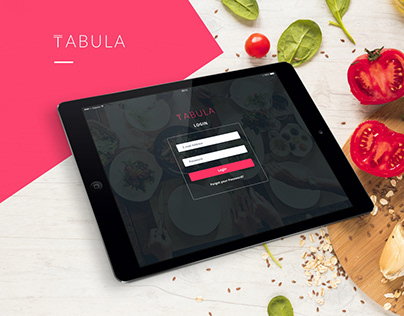 Tabula Restaurant Dashboard and Website Design