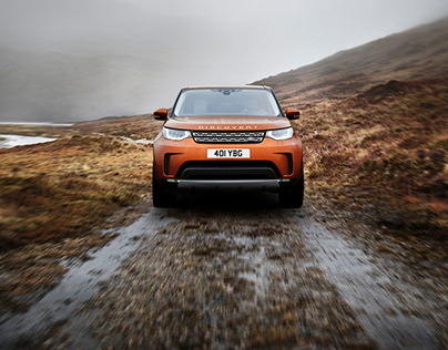 Land Rover - Chasing shadows on the Isle of Skye