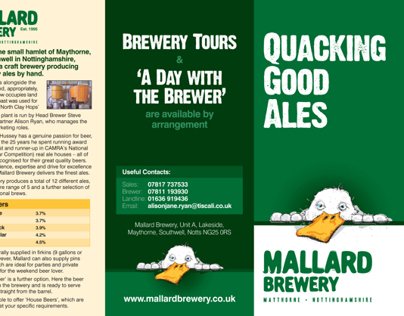 Mallard Brewery - Quacking Good Ales