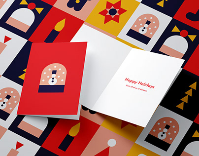 Ableton Christmas Stationery