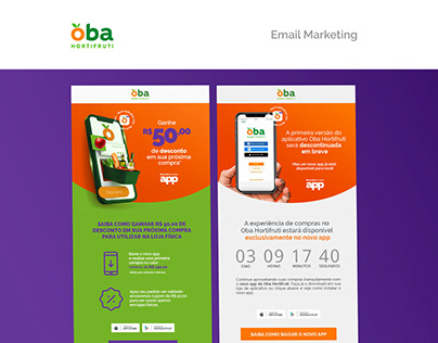 Newsletter - Email Marketing - Oba Hortifruti