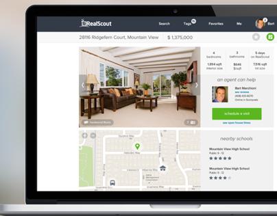 Web Design - RealScout