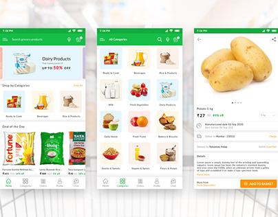 Grocery Supermarket app