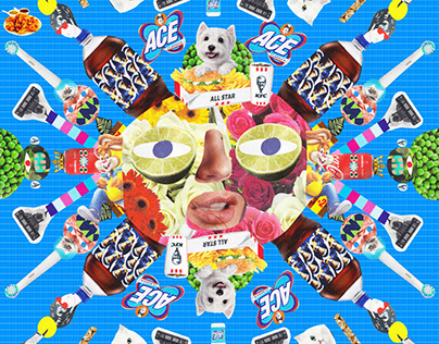 Supermarket Flyer Collages