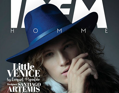 IDEM HOMME Cover Editorial