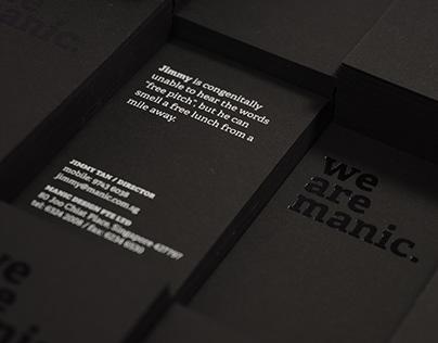 Manic Namecards 2011