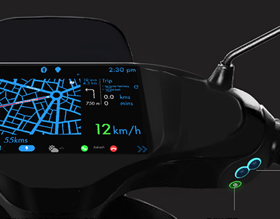 Usability Design-Scooter Console