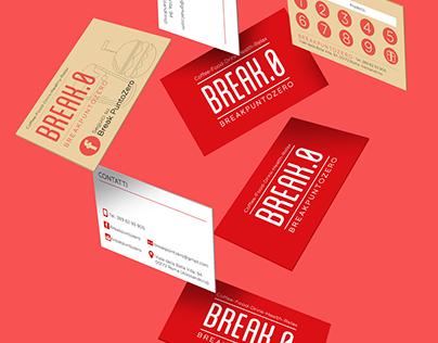 Break.0 - Bistrot - Brand Identity