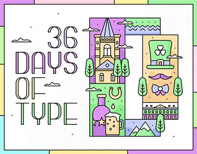 36 Days Of Type ~ 2020